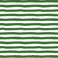 Painted Stripes in Green Apple