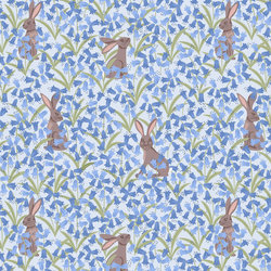 Bluebell Hare in Blue