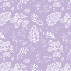 Foliage in Lilac