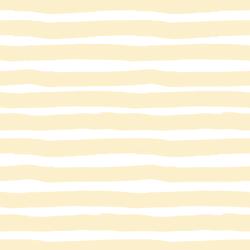Large Painted Stripe in Lemon Chiffon
