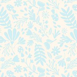 Spring Garden in Fresh Blue