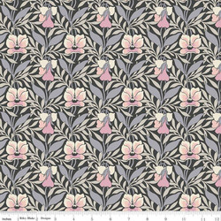 Harriet's Pansy in Pink and Gray