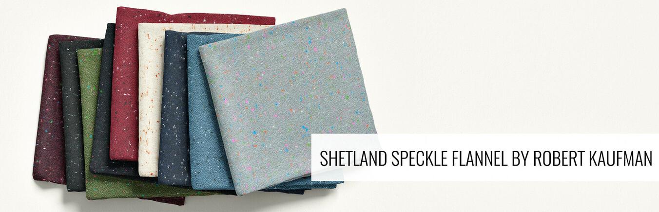 Shetland Speckle Flannel by Robert Kaufman
