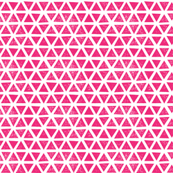 Triangles Knit in Magenta