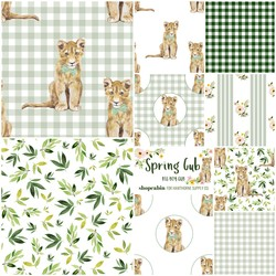 Spring Cub Fat Quarter Bundle in Big Boy Cub