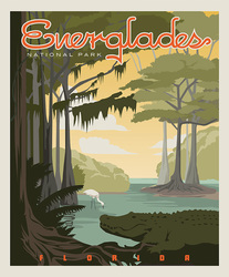 Poster Panel in Everglades