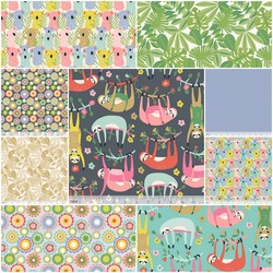 Tree Huggers Fat Quarter Bundle