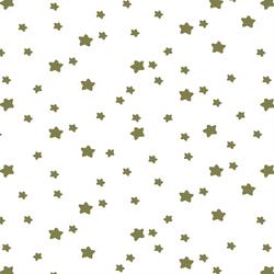 Star Light in Jungle on White