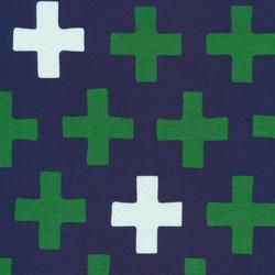 Cross Knit in Navy