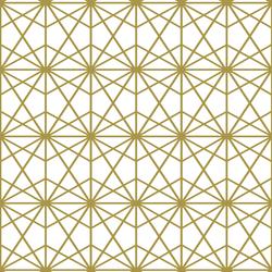 Terrarium in Gold on White