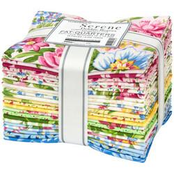 Flowerhouse Serene Fat Quarter Bundle