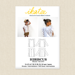 Hibiscus Blouse/T-shirt - Kids