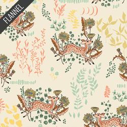 Dandelion Doe Flannel in Parsnip