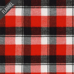 Heavy Plaid Flannel in Red