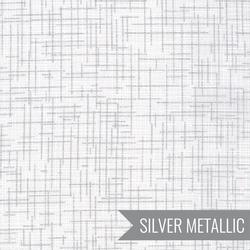 Quilter's Linen Metallic in Blanc