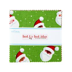 """Holly Holiday 5"""" Square Pack"""