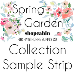 Spring Garden Sample Strip