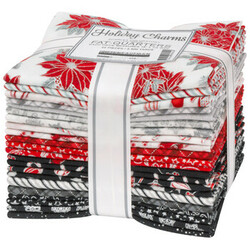 Holiday Charms Fat Quarter Bundle in 2021 Scarlet Colorstory
