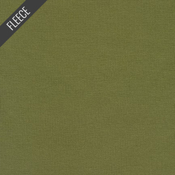 French Terry Fleece in Olive