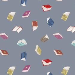 Books in Grey