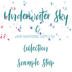 Underwater Sky Sample Strip