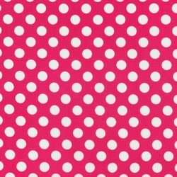 Medium Spots in Hot Pink