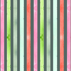 Holiday Stripe in Dark Spruce
