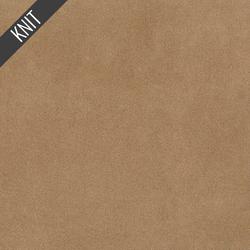Scuba Suede Knit in Wheat