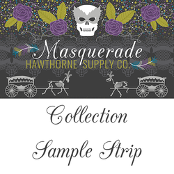 Masquerade Sample Strip