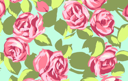 Tumble Roses in Pink