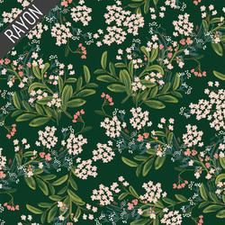Cornflower Rayon in Hunter