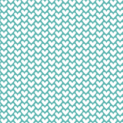 Hearts in Seafoam