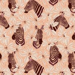 Happy Zebra in Butterfly Kisses
