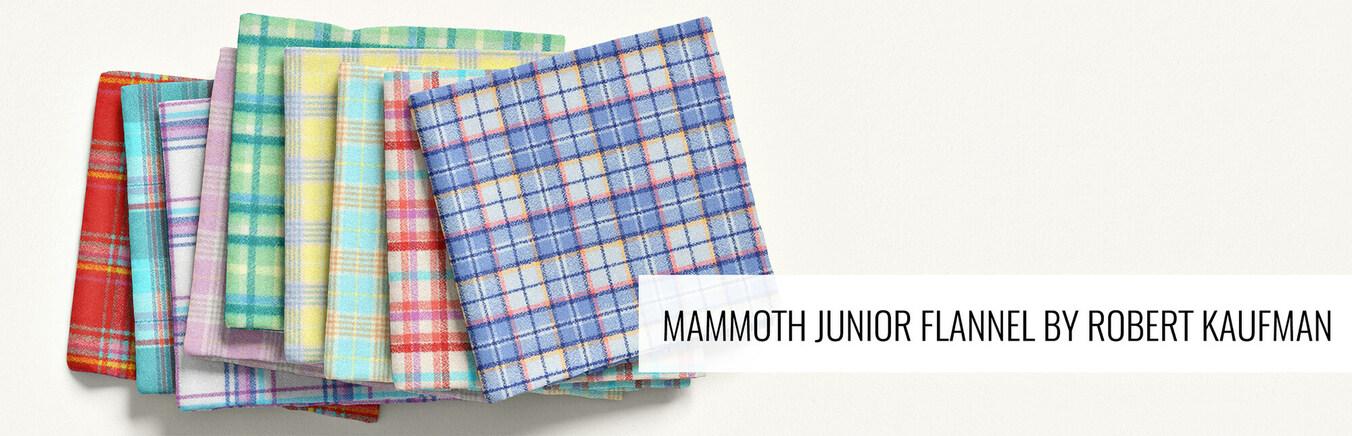 New Mammoth Junior Flannel by Robert Kaufman