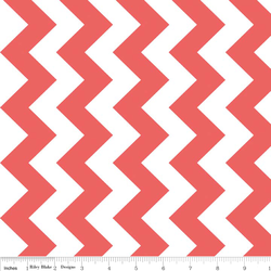 Medium Chevron in Rouge