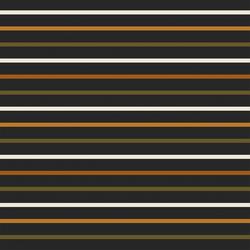 Spooktacular Stripe in Charcoal