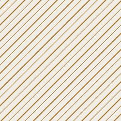 Peppermint Stripe in Golden Yellow