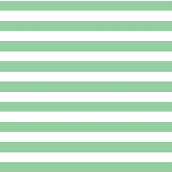 Horizontal Candy Stripe in Sprout