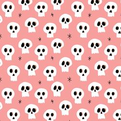 Sweet Skulls in Warm Pink