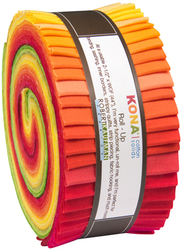 """Kona Solid 2.5"""" Strip Roll Curated By Christina Watson"""