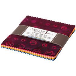 """Good Vibes Artisan Batiks 5"""" Square Pack"""