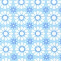 Geometric Flowers in Breeze