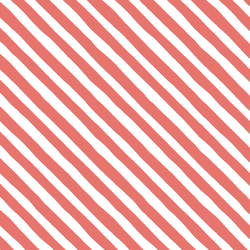 Rogue Stripe in Living Coral