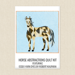 Horse Abstractions Quilt Kit