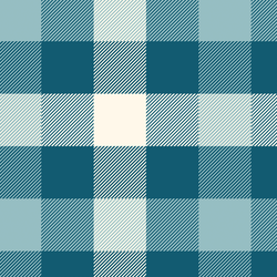 Peaceful Plaid in Evening Blue