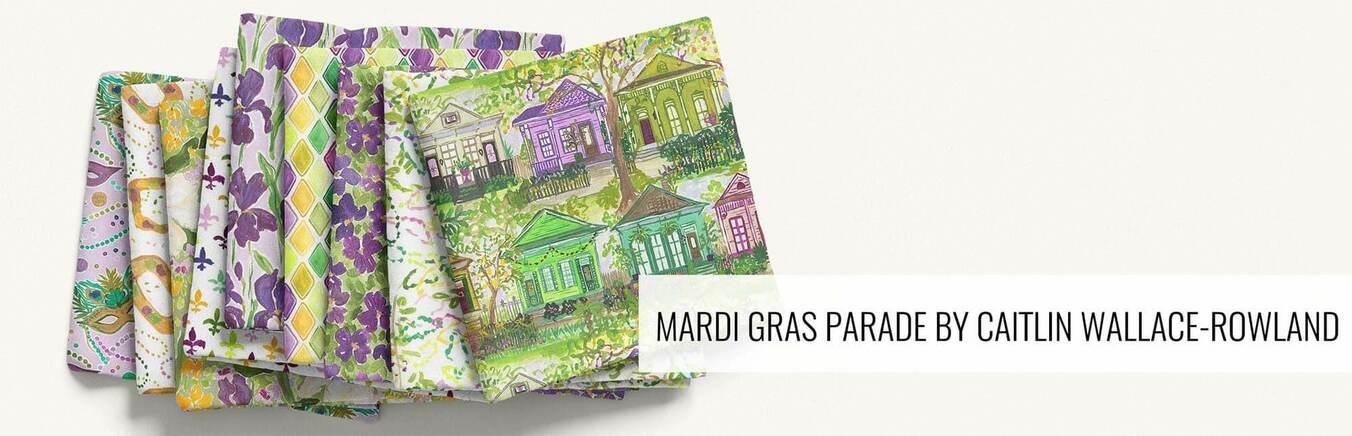 Mardi Gras Parade by Caitlin Wallace Rowland