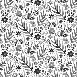 Flutter Floral in Pewter