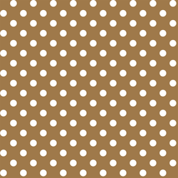 Candy Dot in Ochre