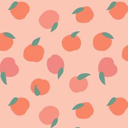 Oranges and Peaches in Parfait