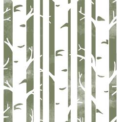 Big Birches in Olive